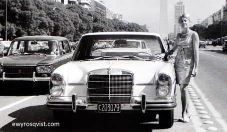 Biography and career of ewy rosqvist von korff for Mercedes benz brand ambassador
